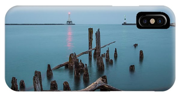 Port Washington Harbor IPhone Case