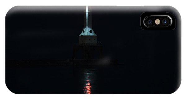 Port Washington Night Light. Phone Case by Eric Curtin