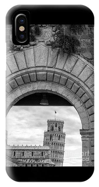 Porta Di Pisa IPhone Case