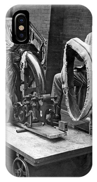 Smithsonian iPhone Case - Portable Tire Making Device by Underwood Archives