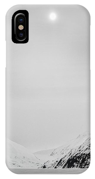 Portage Lake In Fog IPhone Case