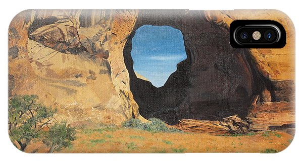 Portal At Window Rock  IPhone Case