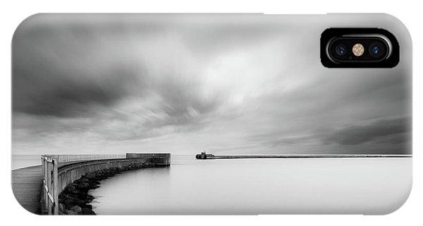 Pier iPhone Case - Portal by Mats Reslow