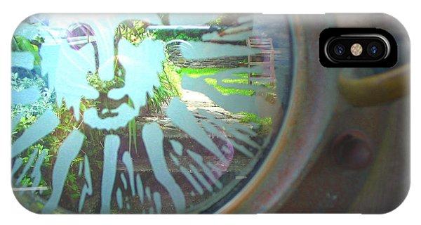 Porthole To The Secret Garden IPhone Case
