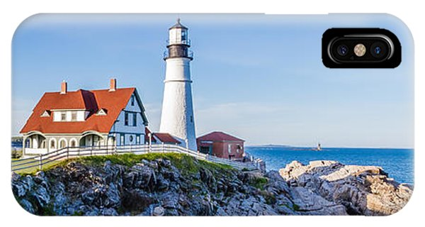 Portland Head Light House Cape Elizabeth Maine IPhone Case
