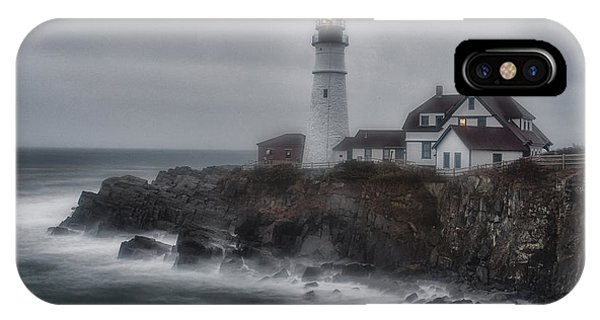 Portland Head Nor'easter IPhone Case