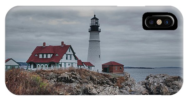 Portland Headlight 14456 IPhone Case