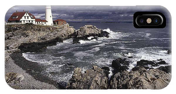 Portland Headlight IPhone Case