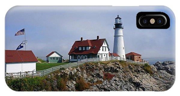 Portland Lighthouse  Phone Case by Melissa C