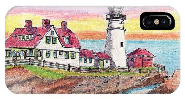 Portland Me Lighthouse IPhone Case