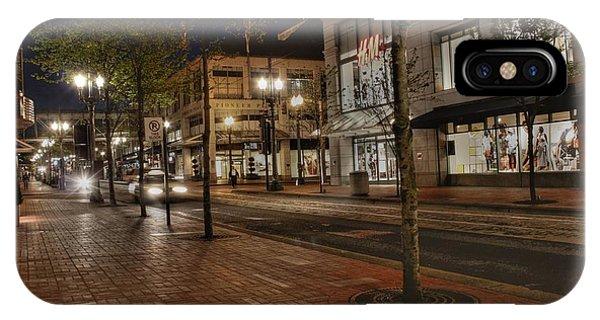 Portland Night IPhone Case