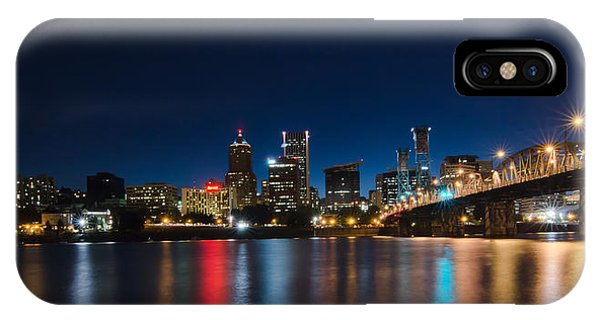 Portland Oregon Nightscape IPhone Case