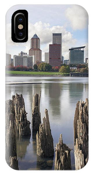 Portland Oregon Waterfront IPhone Case