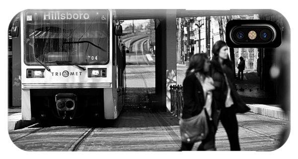 Portland Train IPhone Case