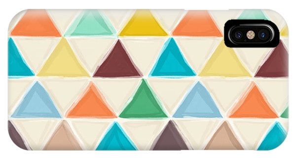 Portland Triangles IPhone Case