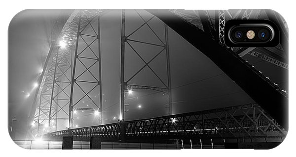 Porto @ Night Fog IPhone Case