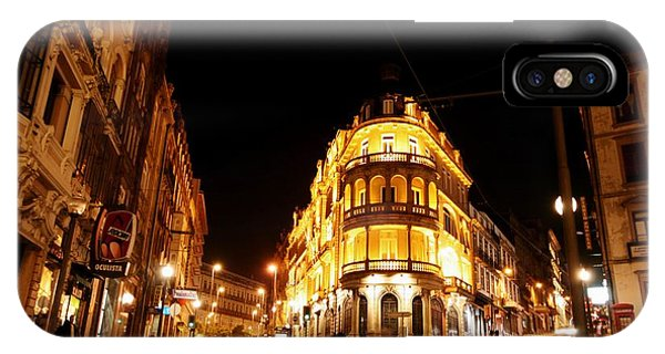 Porto Portugal At Night 1 Am IPhone Case
