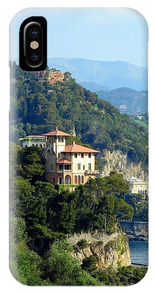 Portofino Coastline IPhone Case