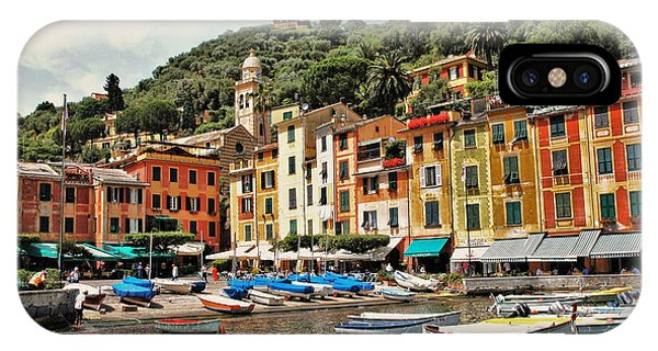 Portofino Harbor 2 IPhone Case