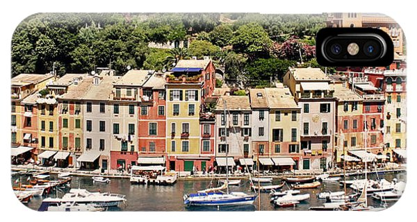 Portofino Panorama IPhone Case