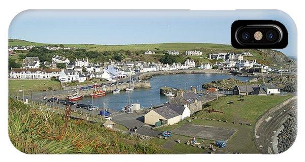Portpatrick Harbour IPhone Case