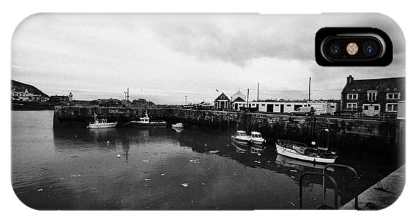Portpatrick Harbour Scotland Uk Phone Case by Joe Fox