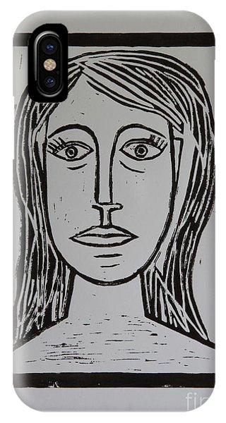 Portrait A La Picasso IPhone Case