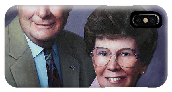 Portrait For Cathy Crissman IPhone Case