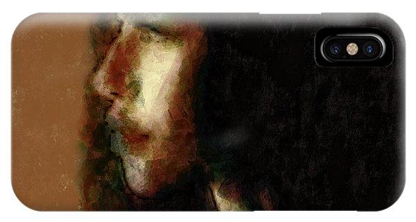 Portrait In Sepia Tones  IPhone Case