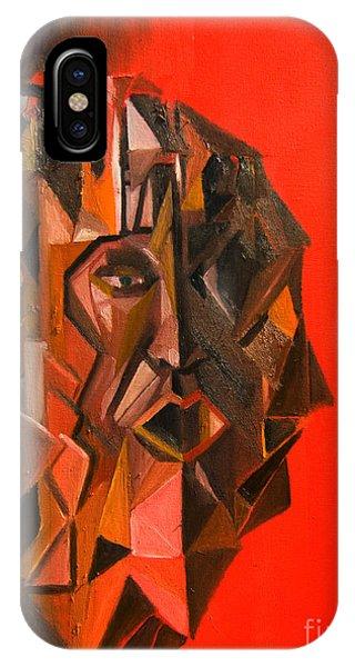 Portrait Mask IPhone Case