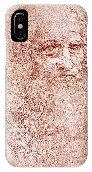 Portrait Of A Bearded Man IPhone Case