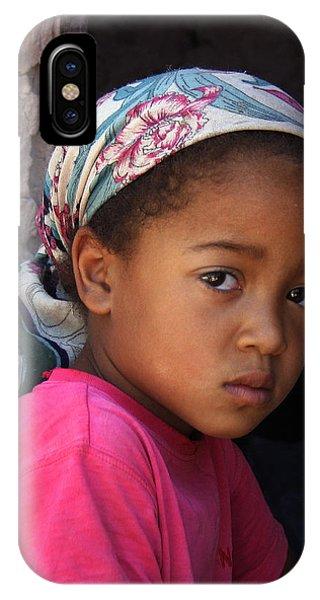 Portrait Of A Berber Girl IPhone Case