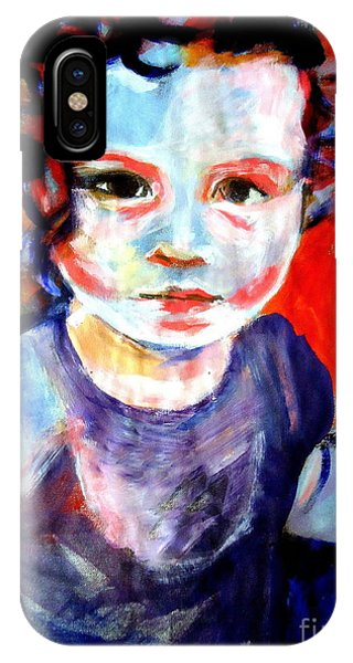 Portrait Of A Little Girl IPhone Case