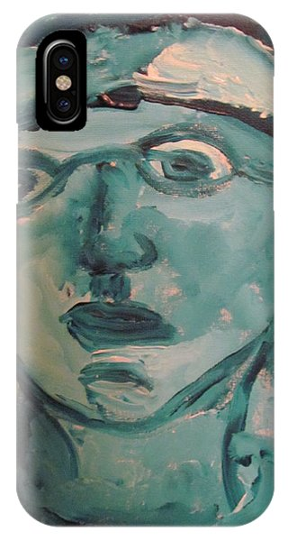 Portrait Of A Man IPhone Case