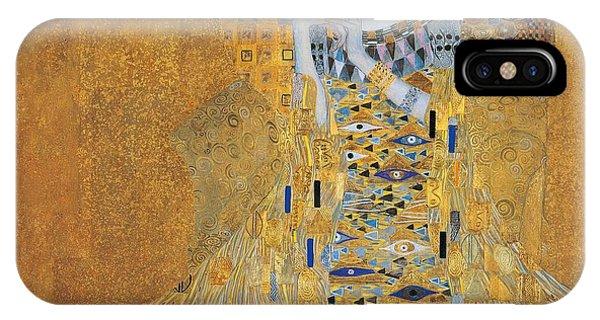 Strange iPhone Case - Portrait Of Adele Bloch-bauer I by Gustav Klimt