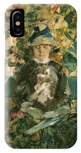 Adele iPhone Case - Portrait Of Adele Tapie De Celeyran by Henri de Toulouse-Lautrec