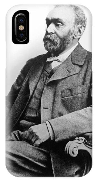 Nobel iPhone Case - Portrait Of Alfred Nobel by Underwood Archives