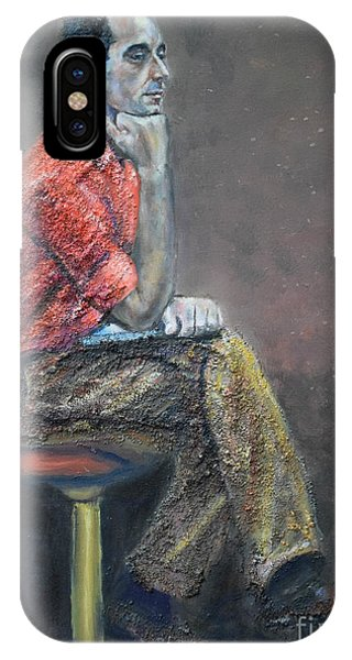 Portrait Of Ali Akrei - The Painter IPhone Case