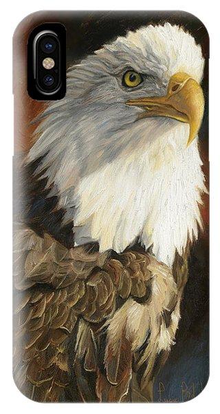 Portrait Of An Eagle IPhone Case