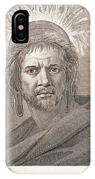 Islanders iPhone Case - Portrait Of An Easter Islander by George Bernard/science Photo Library