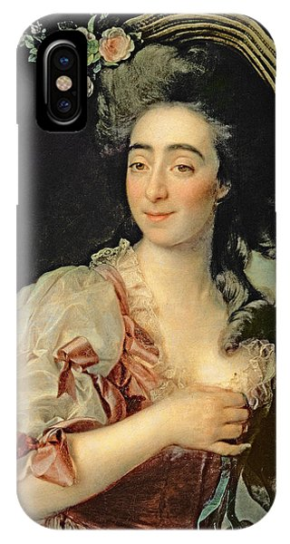 Portrait Of Anna Davia Bernucci IPhone Case