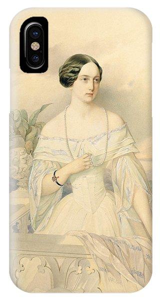 Portrait Of Grand Duchess Olga Nikolaevna IPhone Case