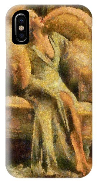 Portrait Of Jean Harlow IPhone Case