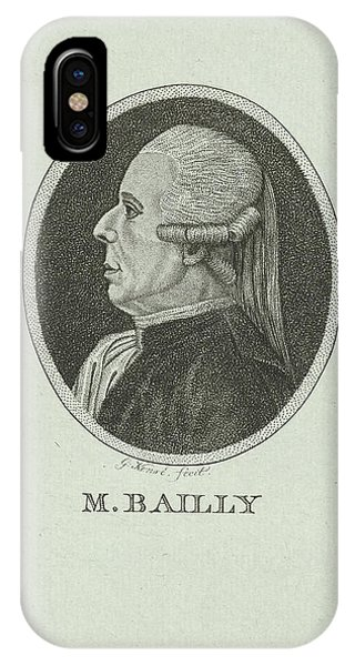 Portrait Of Jean Sylvain Bailly, 1736 - 1793, A French Phone Case by Quint Lox