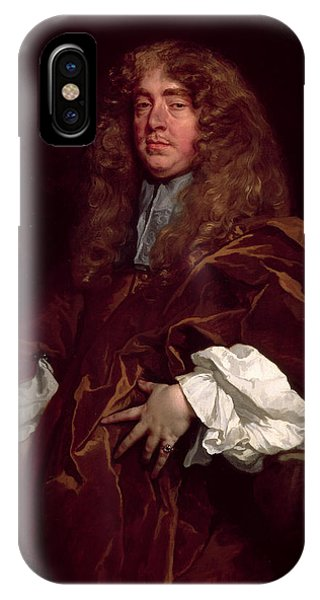 Portrait Of John Maitland, 1st Duke Of Lauderdale 1616-82 C.1665 IPhone Case