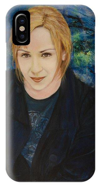 Portrait Of Katarzyna Magda IPhone Case