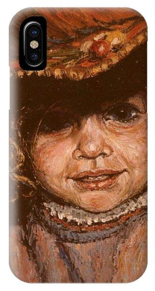 Portrait Of Leticia IPhone Case