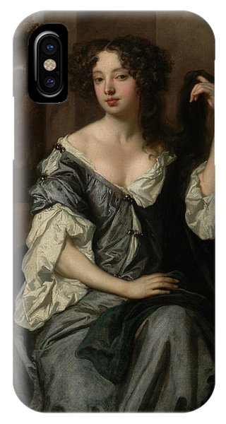 Portrait Of Louise De Keroualle, Duchess Of Portsmouth Phone Case by Litz Collection