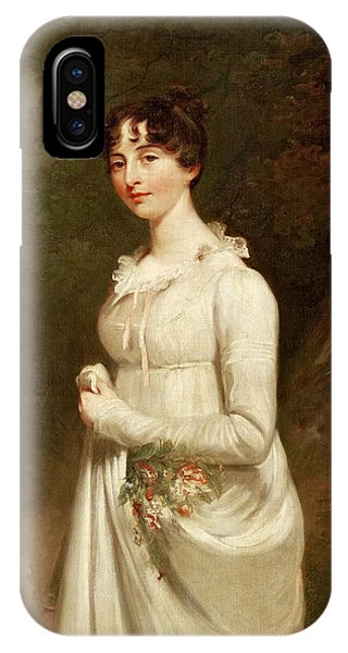 British Empire iPhone Case - Portrait Of Marcia B Fox  by Sir William Beechey