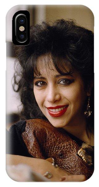 Portrait Of Ofra Haza IPhone Case